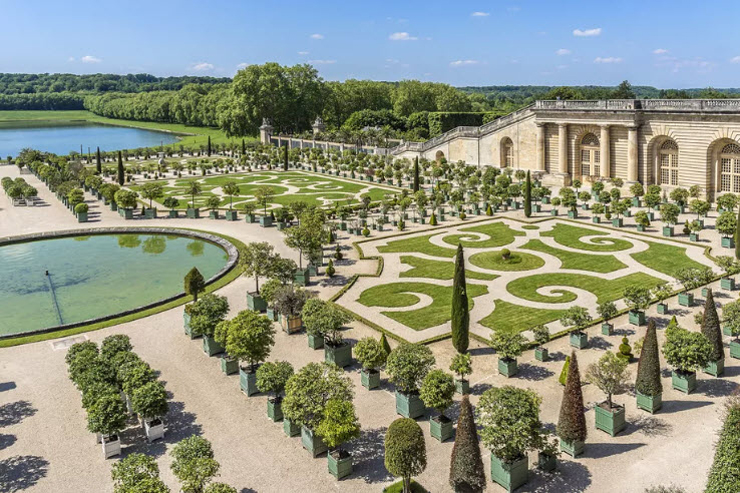 הגנים בארמון ורסאי שבצרפת