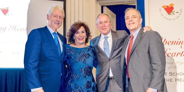 """במעמד שני נשיאים אמריקאים: פרס לתעשיינית והיזמת החברתית ד""""ר יהודית ריכטר"""
