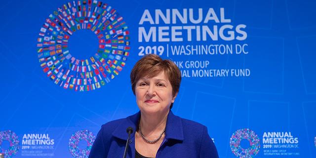 """יו""""ר קרן המטבע: """"נעדכן שוב את תחזית הצמיחה העולמית כלפי מעלה"""""""