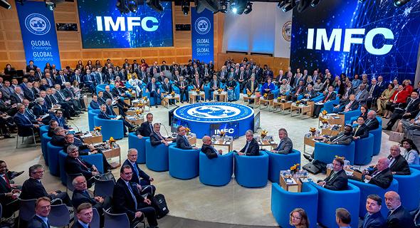 כינוס קרן המטבע הבינלאומית בשנה שעברה. עדכון התחזיות, צילום: אי פי איי