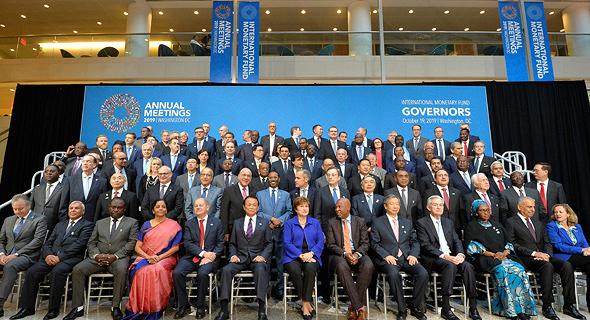 כינוס קרן המטבע, אתמול, צילום: רויטרס