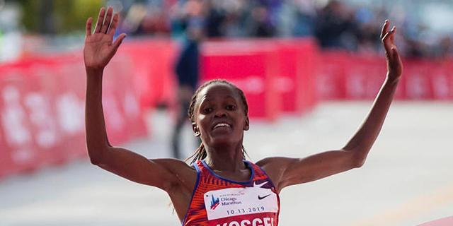 מדוע עולם האתלטיקה לא מתפעל מהשיא שקבעה בריג'יד קוסגיי בריצת מרתון נשים?