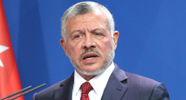 מלך ירדן עבדאללה, צילום: אי פי איי