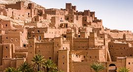 פוטו מבנים מחימר מרוקו Ait Benhaddou, צילום: שאטרסטוק