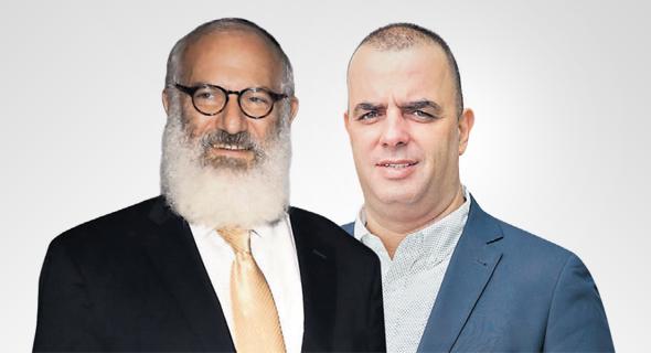 """מנכ""""ל ויקטורי אייל רביד ואדוארדו אלשטיין. ההשקעות ברשת נמשכות, צילומים: אוראל כהן, סיון פרג"""