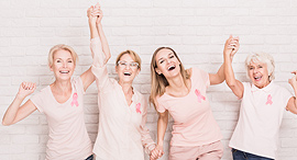 Breast Cancer fighters. Photo: Shutterstock