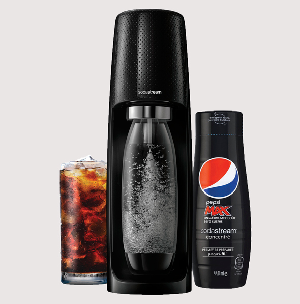 SodaStream's at-home Pepsi concentrate. Photo: Avishag Shaar-Yashuv