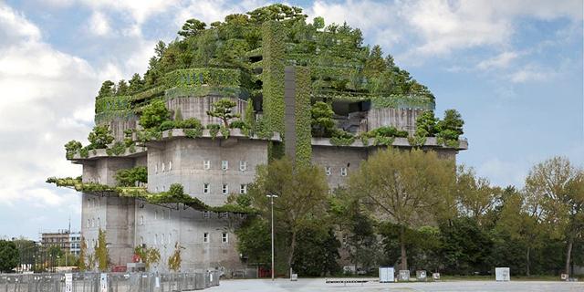 צפו בתמונות: בונקר נאצי בהמבורג יהפוך למלון יוקרה