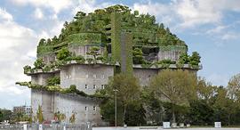 הדמיית הבונקר שיהפוך למלון, צילום: NH  Hotels