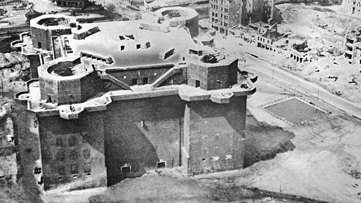הבונקר בתקופת מלחמת העולם השנייה, צילום: איי פי