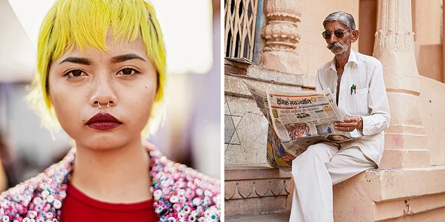 לא רק סארי: צלם אופנת הרחוב סקוט שומאן הקדיש ספר שלם להודו