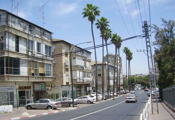 """רחוב הרא""""ה רמת גן"""