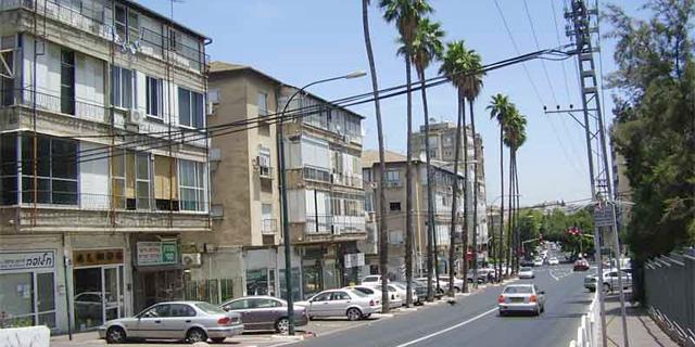 """רחוב הרא""""ה ב רמת גן, צילום: אבישי טייכר / פיקיויקי"""