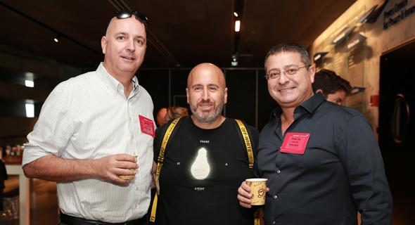 רונן טוב, אבנר סטפק ואילן רביב, צילום: אוראל כהן