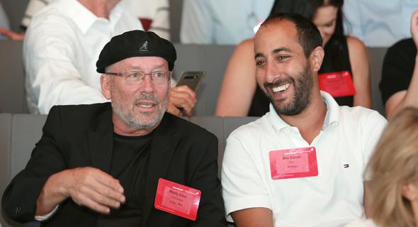 בן זנאטי ומולי אדן, צילום: אוראל כהן
