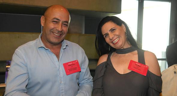 איריס מאור ואיילה טרוול ז'יל פרז, צילום: יאיר שגיא
