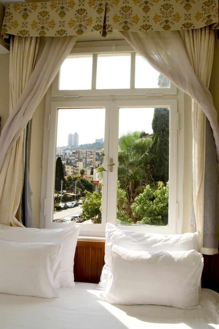 נוף לעיר חיפה ממלון קולוני כיום
