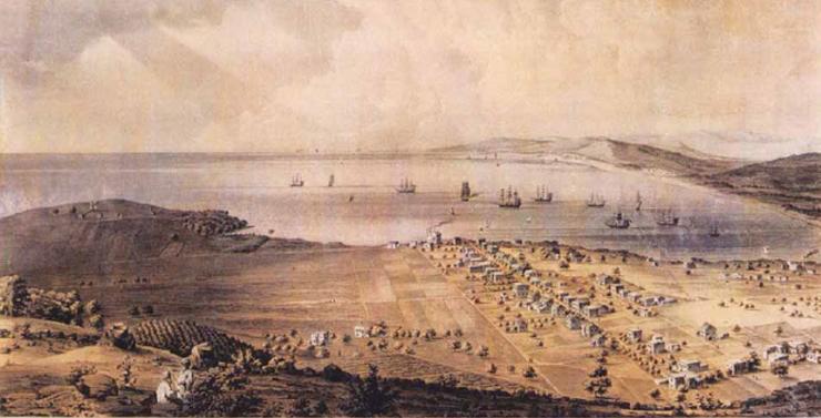 נוף פתוח מהכרמל אל המפרץ