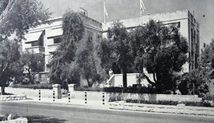 מלון אפינגר במושבה הגרמנית בחיפה