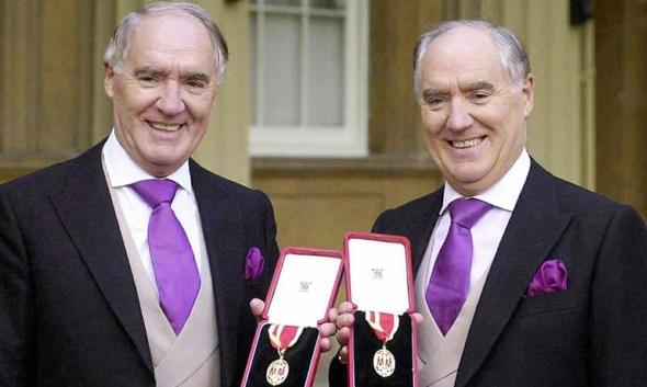 דיוויד ו פרדריק ברקלי , צילום: AFP
