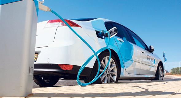 מכונית חשמלית (ארכיון), צילום: אוראל כהן