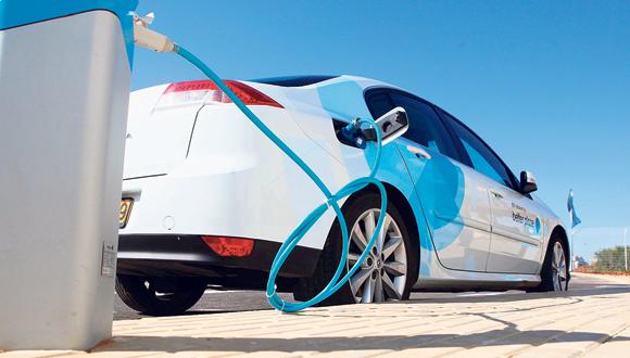 מכונית חשמלית, צילום: אוראל כהן