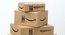 חבילה חבילות אמזון מסחר מקוון, צילום: גטי