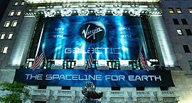 וירג'ין גלאקטיק וירג'ין גלקטיק מנייה וול סטריט בורסה ניו יורק , צילום: Virgin Galactic