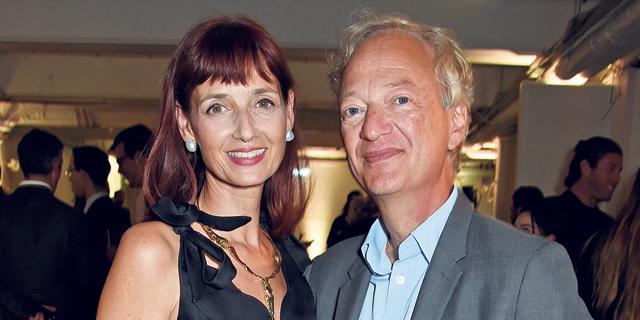 זאק גרטלר ואשתו קנדידה, צילום: גטי אימג