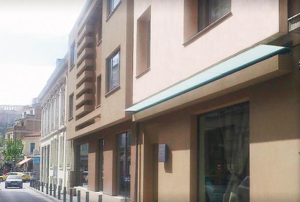מלון בוטיק של רשת בראון באתונה, צילום: גוגל סטריט וויו