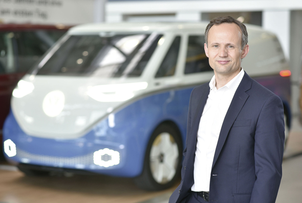 Volkswagen senior vice president of autonomous driving Alexander Hitzinger. Photo: PR