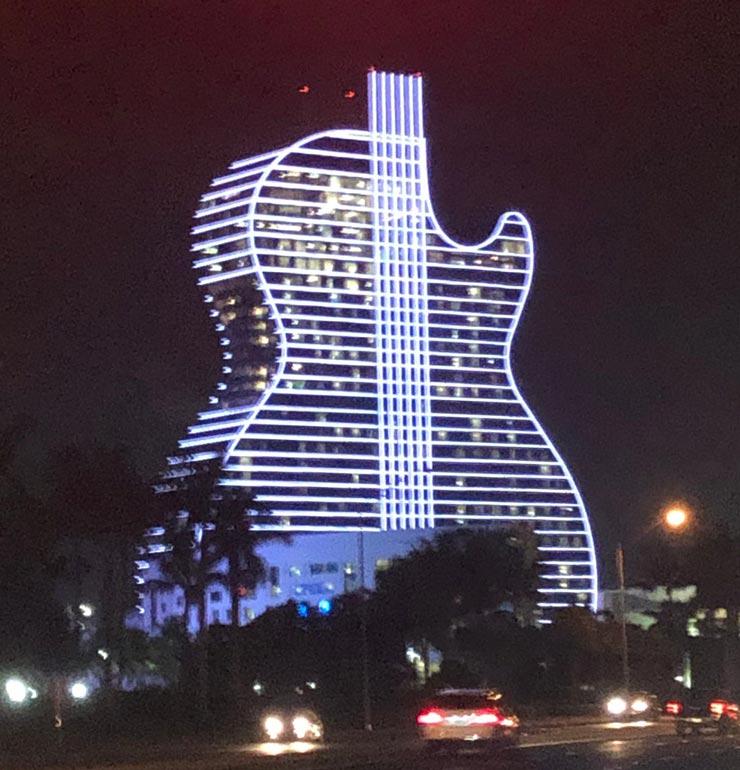 מלון גיטרה וקזינו הארד רוק, צילום: רויטרס