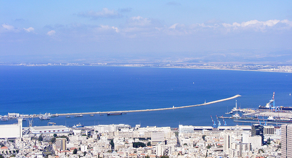 Haifa port. Photo: Nirit Han