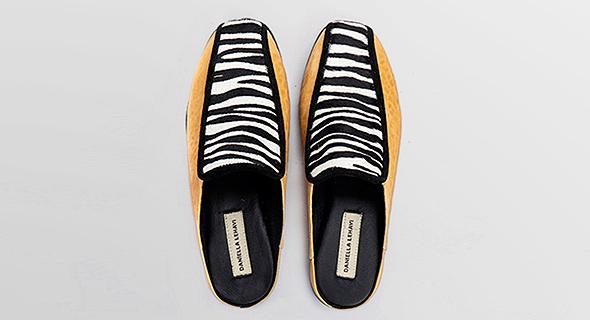 נעליים של דניאלה להבי שיימכרו ביריד. רק עיצוב ישראלי