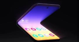 סמסונג סמארטפון היברידי מתקפל מסך גמיש, צילום: Samsung