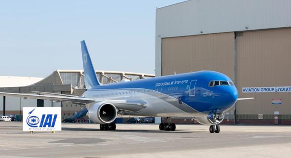 מטוס ראש הממשלה, צילום: התעשייה האווירית