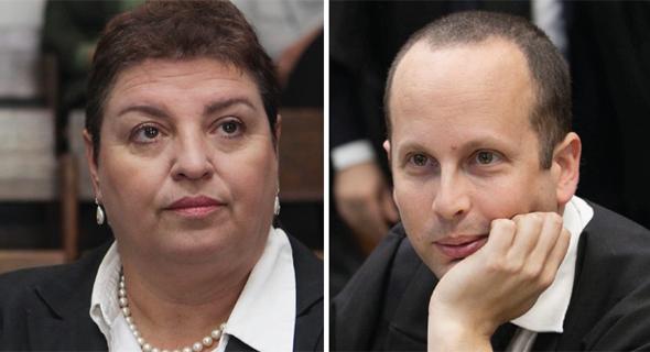 אמיר טבנקין ואורלי דורון, צילום: אוראל כהן
