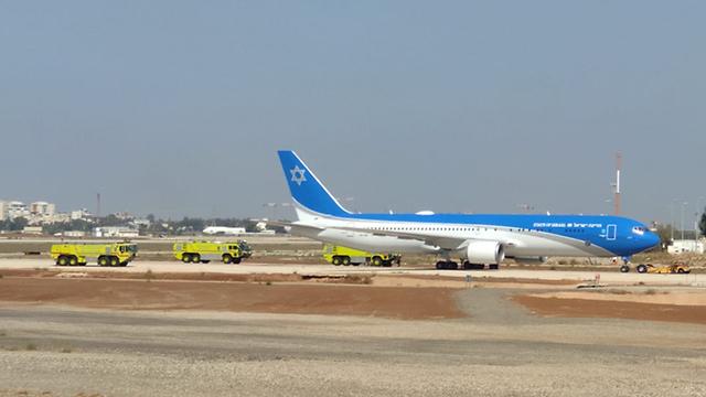 מטוס ראש הממשלה , צילום: התעשייה האווירית