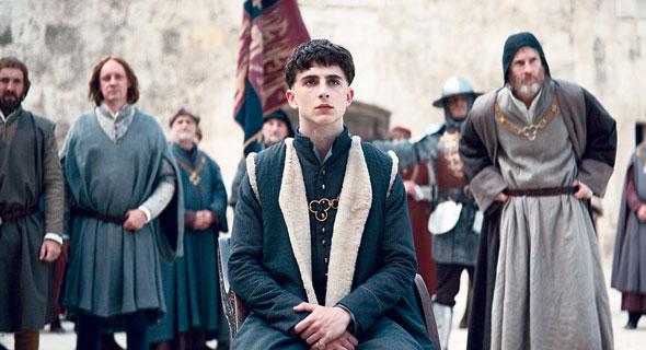 """טימותי שאלאמה ב""""המלך"""". מסע התבגרות כפול, צילום: Netflix"""