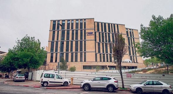 בניין מובילאיי בהר חוצבים בירושלים, צילום: אוהד צויגנברג