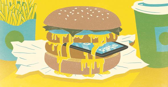 מזון מהיר, הגרסה הדיגיטלית