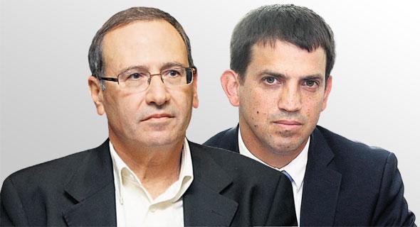 ראש אגף תקציבים שאול מרידור וראש אגף החשב הכללי רוני חזקיהו