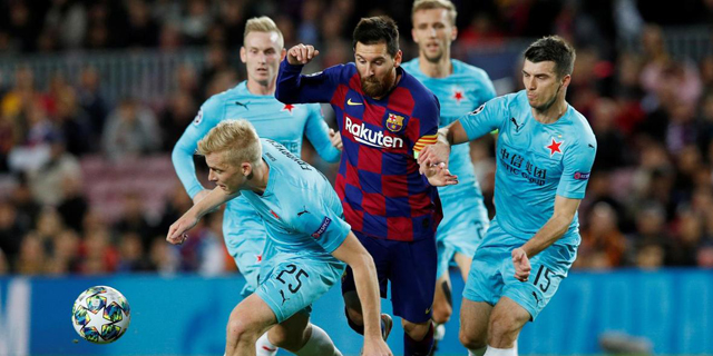 Pixellot's AI-powered virtual photographers to help coach Messi and Co. at FC Barcelona training grounds