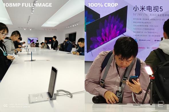 שיאומי CC9 Pro סמארטפון מצלמה, צילום: Engadget