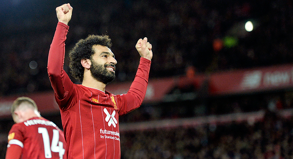 כוכב ליברפול השחקן מוחמד סלאח