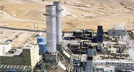 תחנת הכוח רמת חובב, צילום: חברת חשמל