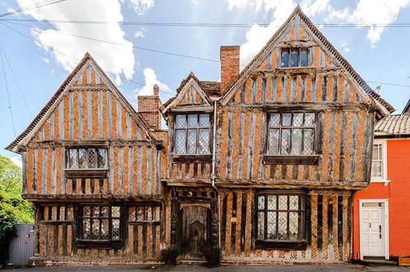 בית ילדות הארי פוטר לאוונהאם סאפוק אנגליה Airbnb 1, צילום: Airbnb