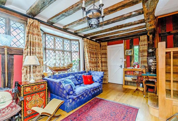 חלק מהסלון, צילום: Airbnb