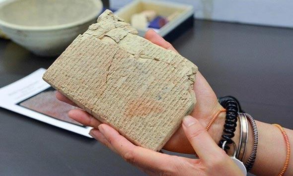 המתכון העתיק בעולם חרוט על לוח היתדות