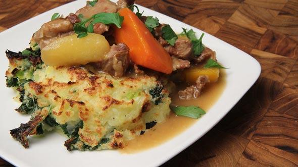 תבשיל כבש כרוב ותפוחי אדמה ממתכון עתיק